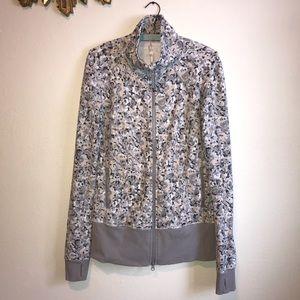 Lululemon Snow Leopard Zip Up Jacket